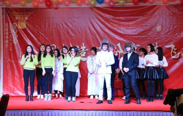 吉茂科技2016年年会表演人员合影